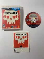 NEW OTHER RESISTANCE 3 - PS3 - Playstation 3 - Comes with Case & Manual A+ VGC