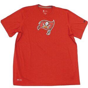 NIKE Onfield T-Shirt Tampa Bay Buccaneers Bucs NFL Football Red Dri-Fit XL