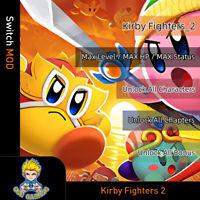Kirby Fighters 2(Switch Mod)-Max Level/HP/Status/Unlock All Characters/Bonus