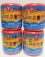 (4) Paw Patrol Series 7 MASHEMS  Mighty Pups Blind Capsules Lot of 4 -Sealed NEW