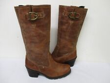 ARIAT Brown Leather Studded Cowboy Boots Womens Size 8.5 B Style 20431