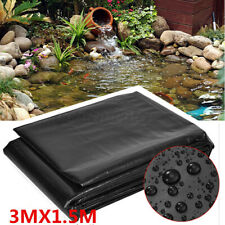 More details for 3x1.5m pond liners garden pool membrane reinforced landscaping outdoor hdpe uk