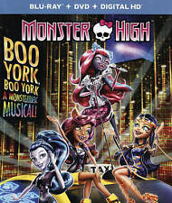 *** BLURAY DISC ONLY NO CASE *** Monster High: Boo York, Boo York Blu-ray Bluray
