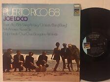 Joe Loco Puerto Rico '68 EX (2 faint marks) Latin soul boogaloo mambo