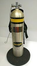 """Vintage Dacor Scuba Divers Tank with Voit """"Snugpack"""" Back Pack with Harness"""