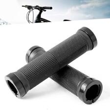 1 Pair Double Bicycle Cycling Mountain BMX Bike Lock On Locking Handle Bar Grips