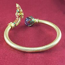 Amulet Naga Serpent Bracelet Brass Holy Jewelry Adjustable Blessed Wealthy Lucky