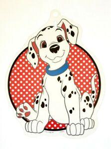 RARE VINTAGE NEW 101 DALMATIANS WINDOW DISPLAY SIGN DECORATION DISNEY DOG PUPPY