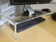 CLEAR ACRYLIC PC MONITOR STAND 12MM THICKNESS