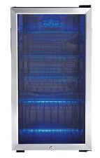 Large Beverage Mini Fridge Refrigerator Beer Soda Pop Cooler Door Glass Display