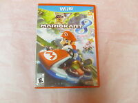 Mario Kart 8 Nintendo Wii U With Manual And Case Very Good 1114