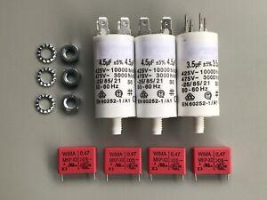 REVOX A77 Motorkondensatoren, Entstörkondensatoren, Motor Capacitors, Repairkit