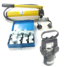 New listing 20T Hydraulic Wire Cable Terminal Crimper Crimping Head Pliers Set 12 Dies pump