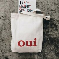 100% Cotton heavy duty Reusable Shopping Shoulder Canvas tote bags Handbags