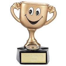 Gold Cup Man Trophy - Free Engraving - Fun Novelty Award