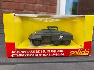 Solido Automitrailleuse M20 40th Anniversary Edition In Original Box - Mint New