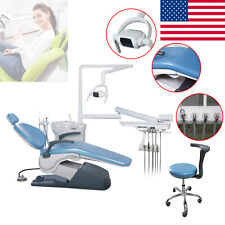 New Listingdental Unit Chair Hard Leather Computer Control Dc Motorstool Assistant Chair