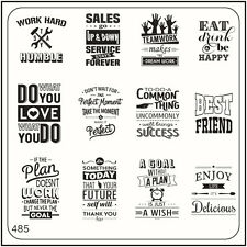 MoYou Nail Fashion Nail Art Stamping Image Plate 485 Urban Style Inspiration