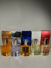 Lot of 5 -Charlie Perfume...Gold, Silver, Blue, White , Red...3.4 oz each NIB