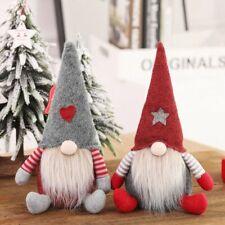 Newest Enano Gnomo Decoración de Navidad para Hogar Papá Noel Muñeca Árbol