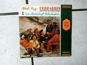 Unter Geiern (Karl May)  -Hörspiel Single von Phillips Folge 1