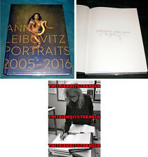 "ANNIE LEIBOVITZ signed ""PORTRAITS 2005-2106"" HARDCOVER 1ST ED BOOK - PROOF - COA"