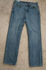   Mens Jeans size 32 x 32 Levis Strauss 514 Slim Straight blue worn faded male