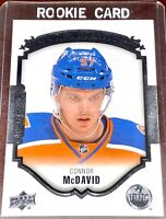 CONNOR McDAVID 2015-16 Upper Deck UD Portraits RC Edmonton Oilers ROOKIE CARD !!