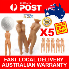 Funny Novelty Naked Lady Woman Golf Tees Naughty Golfer Golfing Gift Clubs Gift