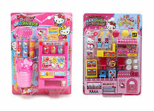 2 Hello Kitty Play Sets Sold Together - Vending Machine and Cake Shop