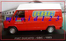 1/43 - Fiat Ducato : GBC - 1983 - Die-cast