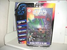 star wars SHADOWS OF THE EMPIRE COMIC PACK BOBA FETT & IG-88 Mint on Card