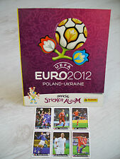 Panini Euro 2012: Leeralbum international + Coca Cola Sticker A-F, top !!!