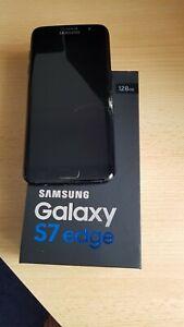 Samsung Galaxy S7 edge SM-G935O - 128GB - Black Pearl (Unlocked) Cracked Screen
