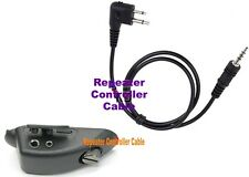Adaptor with Repeater Controller Cable for Motorola Handheld Radio HLN9716