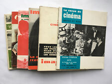 LOT DE 6 REVUE CINEMA IMAGES ET SON 1966 à 1976 CINE ILLUSTRE