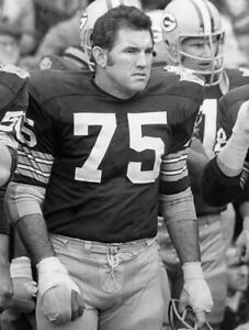 FORREST GREGG GREEN BAY PACKERS ALLTIME GREAT FULLBACK 8 x10  A