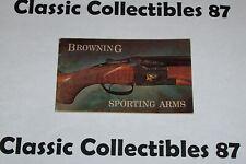 Vintage Browning Sporting Arms Brochure Catalog Advertising