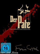 DER PATE 1-3 Triloge, The Coppola Restoration (5 DVDs) NEU+OVP