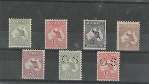 Australian Kangaroos Mint - Good Lot [bp127]