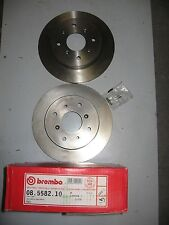 PAIR OF BREMBO REAR BRAKE DISCS 08.5582.10 TO FIT ROVER 820,825,827