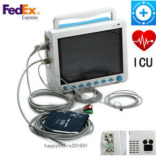 Hot Sell, CONTEC FDA&CE ICU CCU Vital Signs Patient Monitor,6 Parameters CMS8000