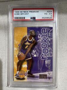 Kobe Bryant Rookie- 1996 Skybox Premium #203- PSA 4