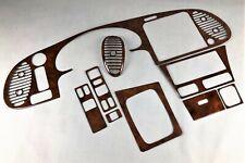 Saab 900 9-3 1 Wurzel Holz real walnut burl wood interior trim kit ronce de bois