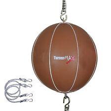 TurnerMax double en cuir fin boules vitesse balle DODGE punch sangles Arts Martiaux