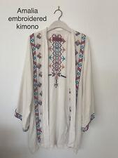 Tigerlily Amalia Embroidered Kimono Size S-M