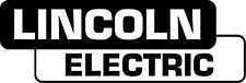 LINCOLN ELECTRIC DIE CUT DECAL STICKER - SET OF 2 - BLACK