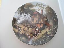 THE OLD MILL Plate By Robert Hersey Coalport China The Tale of a Country Village