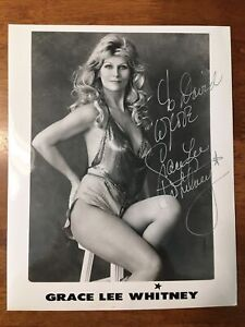 grace lee whitney signed