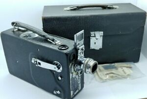 Antique KODAK model K 16 mm CINE Camera w/25 mm F/1.9 ANASTAGMAT Lens
